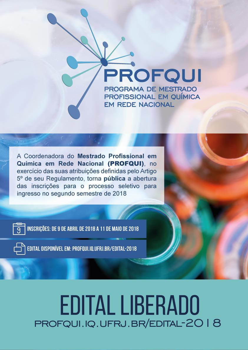PROFQUI-SELECAO-2017 Cartaz do edital